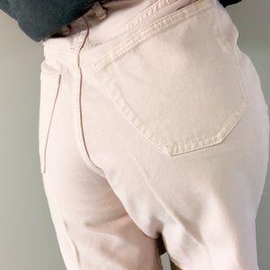 Vintage   90s   Pastel Pink denim shorts